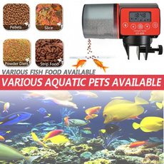 Tank, automaticfeeder, fish, lcdfeedingtimer
