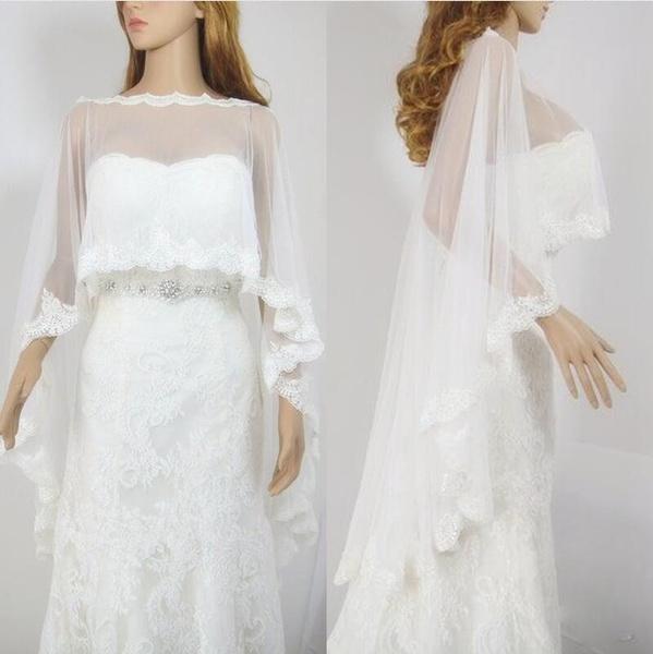 laceshawl, tulle, Lace, Long Coat