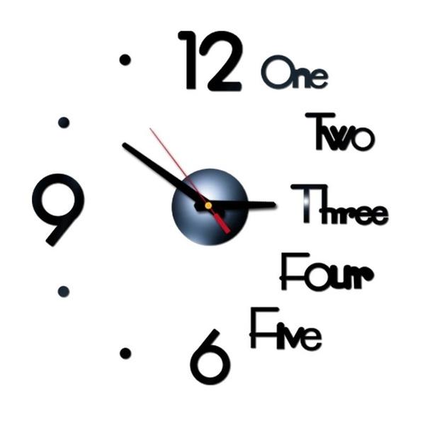 Fashion, 3dwallclock, Clock, Wall