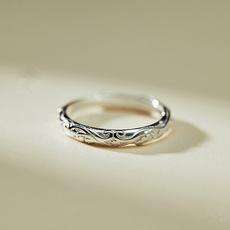 Sterling, patternring, Jewelry, ringswomen