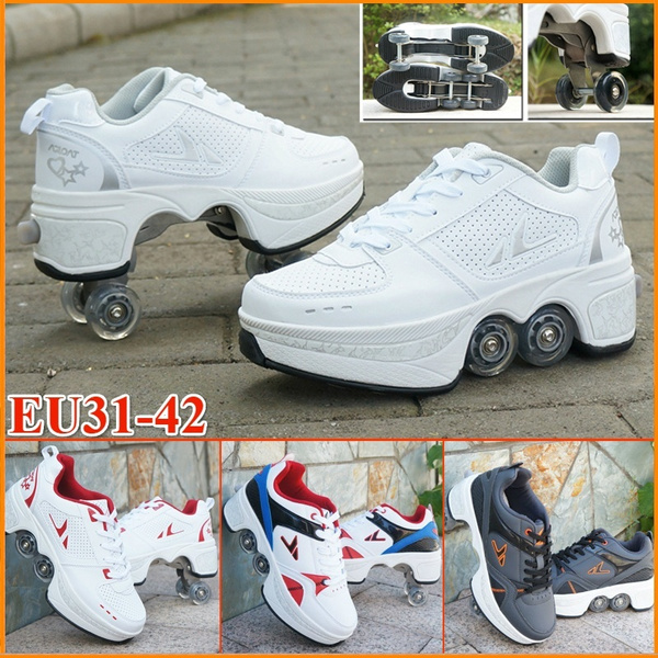 shoes to roller skates