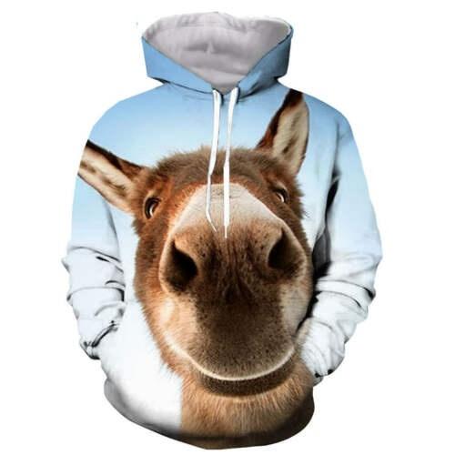 3d sweatshirt men, Fashion, unisex clothing, Animal