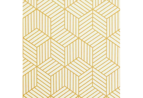 Hexagon Contact Paper Removable Peel and Stick Wallpaper Self Adhesive Film