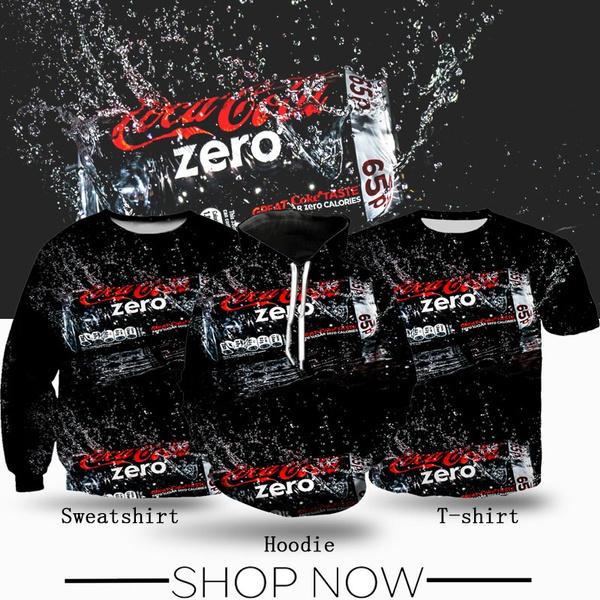 cocacolazero, Coca Cola, Casual, Print