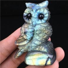 Owl, Stone, quartz, Minerals
