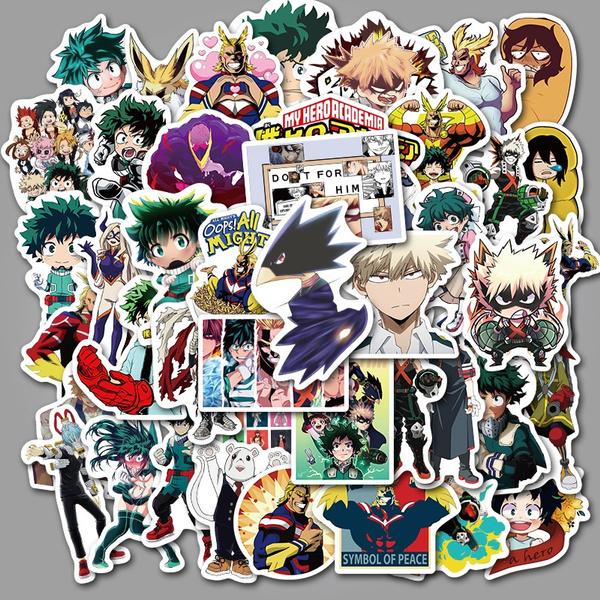 PVC wall stickers, Anime & Manga, Computers, Luggage