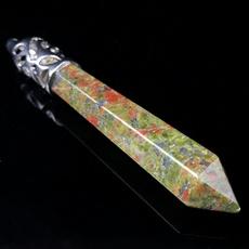 crystal pendant, Jewelry, pendulumnecklace, reikicrystal