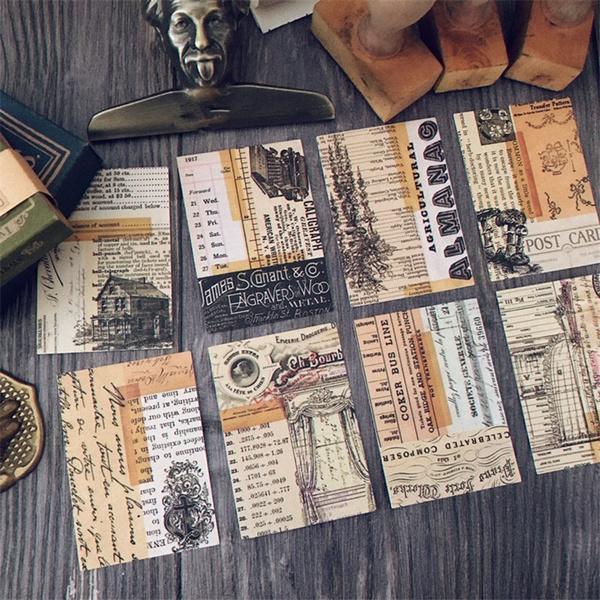 craftsandscrapbooking, Scrapbooking, Journal, vintagesticker
