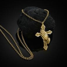 crossmennecklace, punk necklace, Cross necklace, Necklaces Pendants