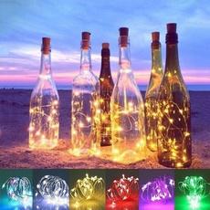 bottlestopperlight, Decor, led, fairylight