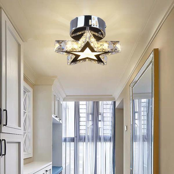 modernceilinglight, Bathroom, ledceilinglight, Star