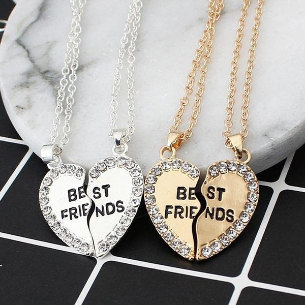 Heart, friendshipnecklace, Jewelry, friendshipgift