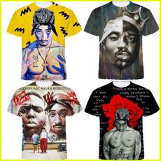 Summer, Fashion, Shirt, tupac