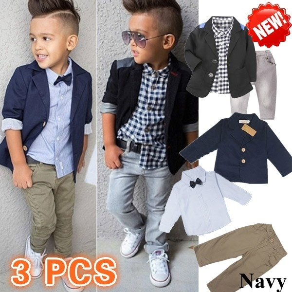 Fashion, pants, boysclothingset, Long sleeved