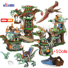 Children, Toy, jurassic, house