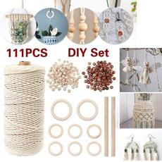 macrame, Wooden, diybraceletbead, Craft