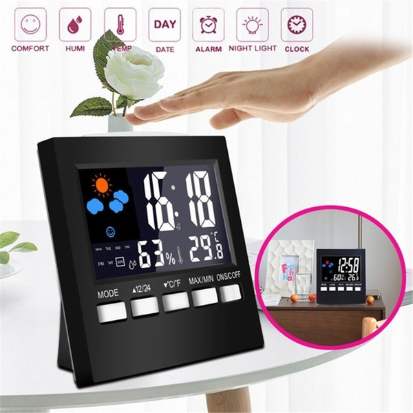 Fashion Accessory, led, Led Clock, deskclock