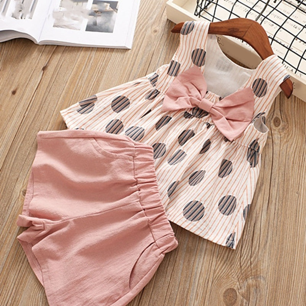 Summer, Baby Girl, Shorts, kids clothes