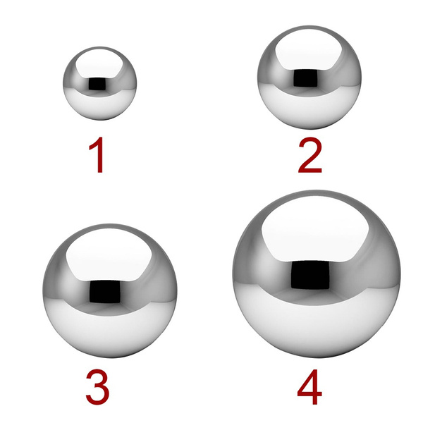 Steel, Stainless, Decor, Ball