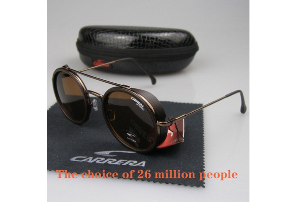 2019 Carrera Glasses Arrival Men Women Retro Sunglasses Sport Matte Black Frame