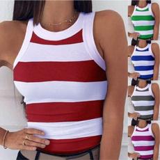 sleevelesstopsforwomen, tank top women, Cotton, Fashion