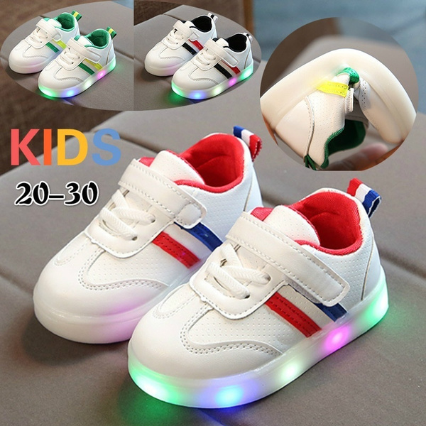 20-30 COOL LED Light Up Shoes For Kids