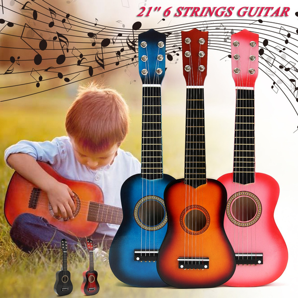Toy, ukulele, miniguitar, Children