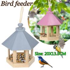 decoration, Garden, woodenbirdhouse, hangingnestwithloop