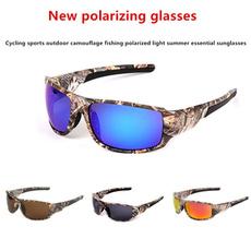 Fashion, fishing sunglasses, camouflage, Polarized Glasses