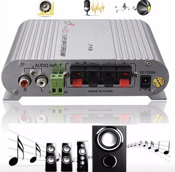 speakeramplifier, audioamplifier, Stereo, speakerbooster