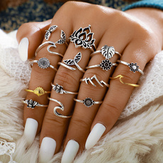 party, Flowers, Jewelry, ringset
