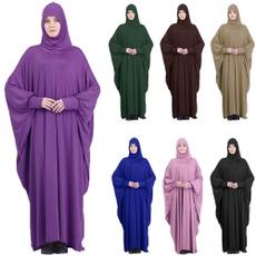 Women's Fashion, muslimmaxidres, hooded, muslimdressforwomen