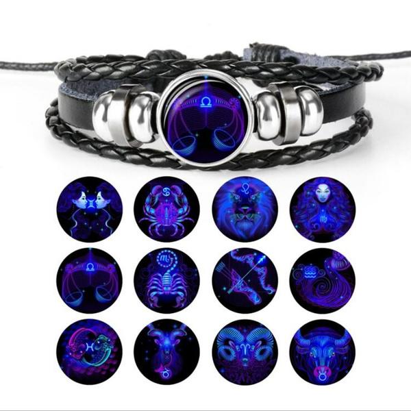 virgo, Jewelry, leather, Bracelet