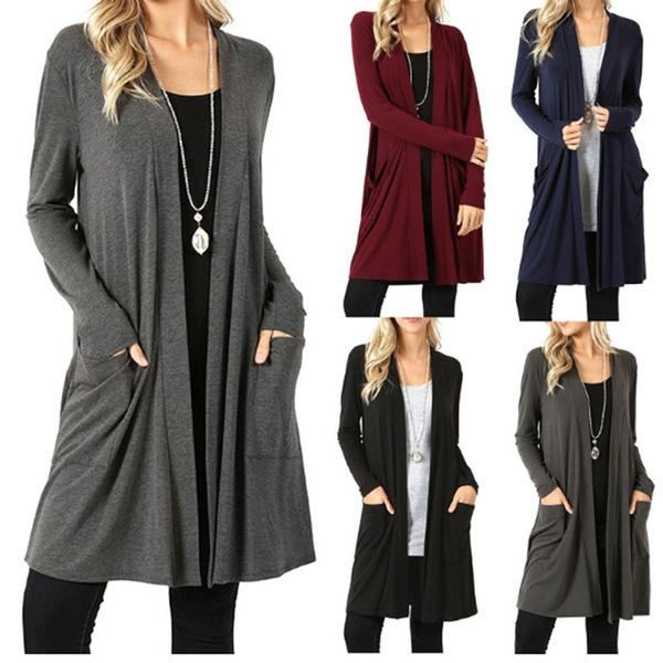 Fashion, coatsampjacket, Long Coat, Long sleeved