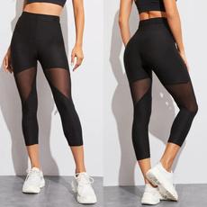 Leggings, slim, Yoga, Elastic