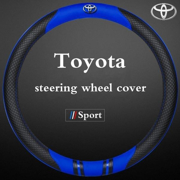 toyotaaccessorie, steeringwheelcoverset, leather, Toyota