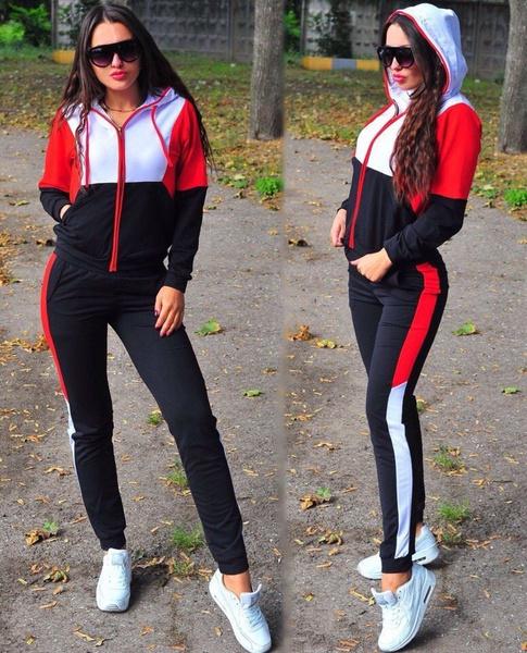 sportsampoutdoor, Long Sleeve, Patchwork, track suit