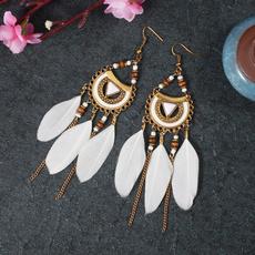 bohemia, longtasselearring, Tassels, Dangle Earring