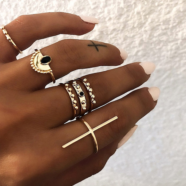 Jewelry, Gifts, Silver Ring, ringset