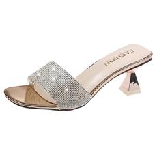 Summer, Fashion, gold, Rhinestone