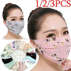 Summer, dustproofmask, mouthmask, chiffon