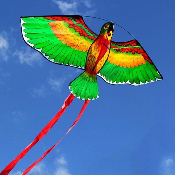 butterfly, rainbow, Flying, parrotflyingkite