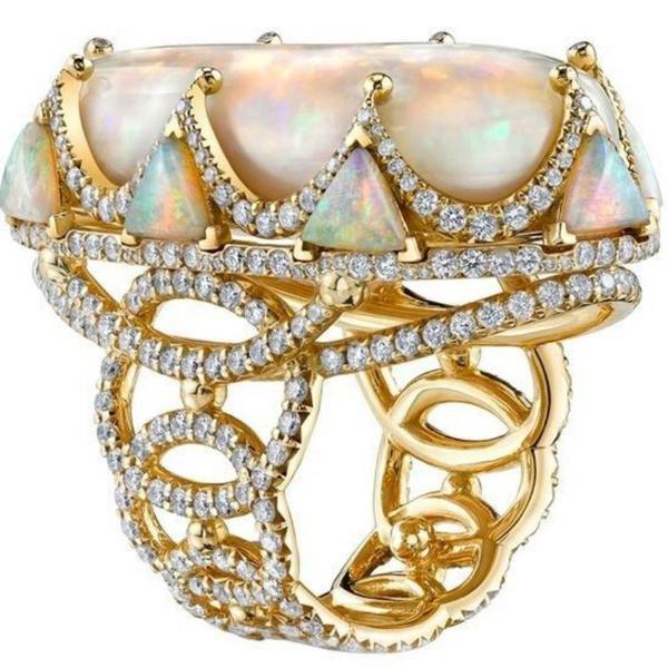 DIAMOND, Triangles, wedding ring, gold