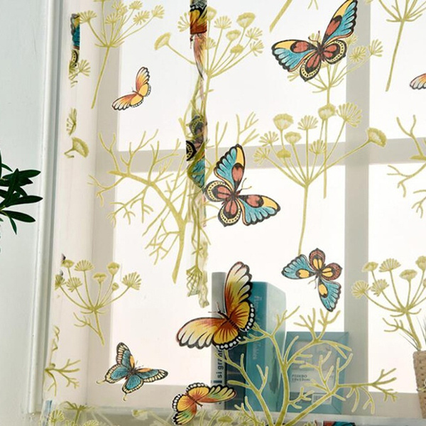 butterfly, Home & Kitchen, vintagecurtain, Shorts