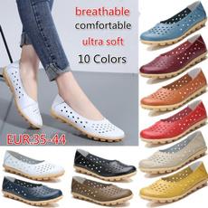 Flats, Fashion, leather shoes, Womens Shoes