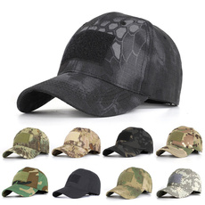velcrohatpatche, Summer, Cap, Army