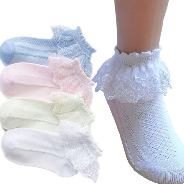 cute, whitedancesock, Flowers, babysock