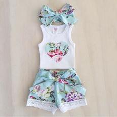 vesttop, Summer, Baby Girl, Shorts