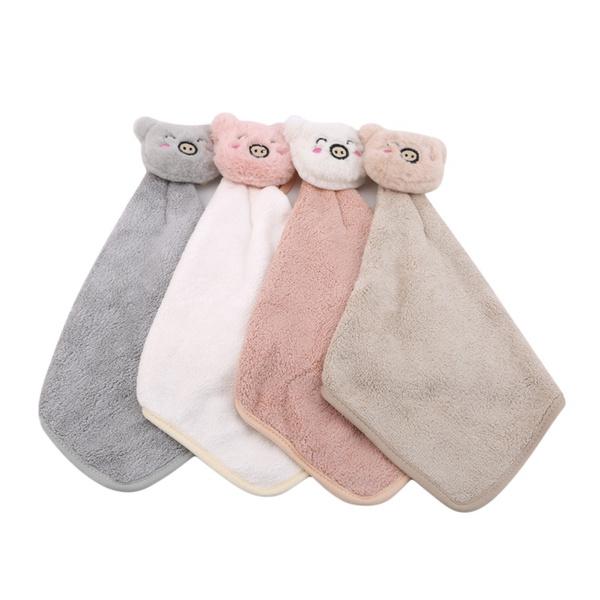 cute, Towels, Family, Plush