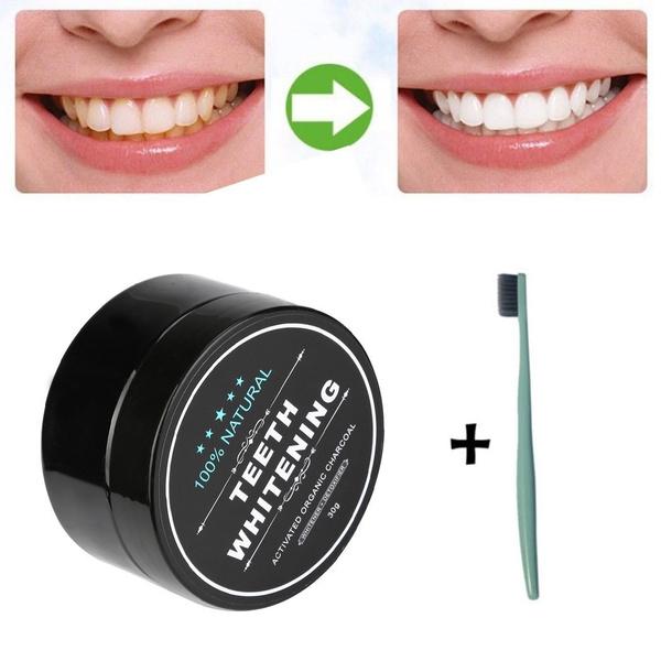 teethwhiteningpowder, Charcoal, dentalcare, yellowteethwhitening